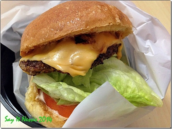 Cheese Burger Php150